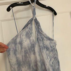Billabong cotton halter maxi